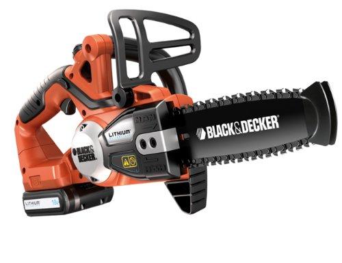 Black & Decker Akku-Kettensäge GKC1820L